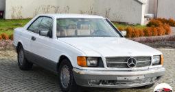 Mercedes Sec 500 1986 r.