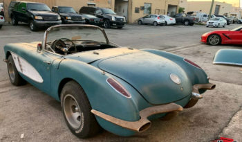 Chevrolet Corvette C1 1960 r. full