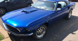 """Ford Mustang Fastback """"M-code"""" 1969 r."""
