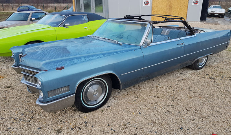 1966 Cadillac DeVille Convertible full