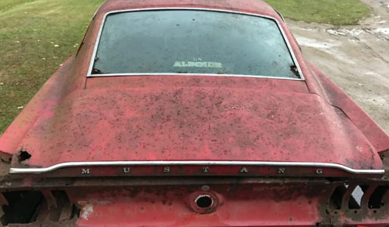 Ford Mustang Fastback 1967 r. full