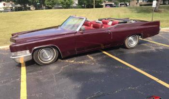 1969 Cadillac De Ville Convertible full