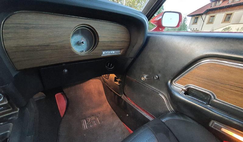 Ford Mustang Mach 1 M-code z 1969 roku full